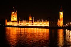 Palace of Westminster. London, England. Barry and Pugin. 1840-1870. Limestone masonry and glass