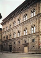 Palazzo Rucellai. Florence, Italy. Alberti. 1450 masonry