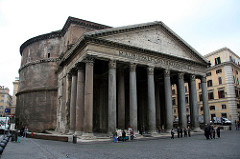 Pantheon. Imperial Roman. 118-125 ce. Concrete with stone facing.