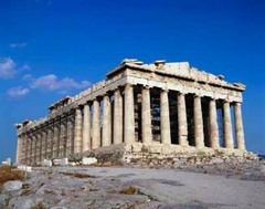 Parthenon,the temple of athena. (Acropolis)