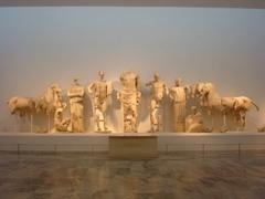 Pediment sculptures, Temple of Zeus (Early Classical)  (Greece)