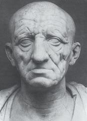 Portrait of a Man, Republican Rome, 1st c. BCE, marble (Late Republican Roman Art)