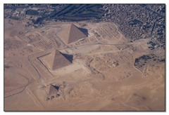 Pyramids at Gizeh (Old Kingdom)  (Egypt)