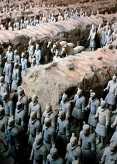 Qin Terra cotta warriors (Qin)  (China)