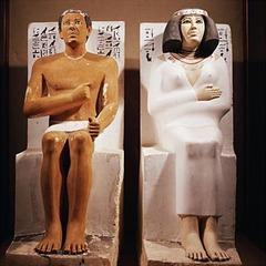 Rahotep and Nofret (Old Kingdom)  (Egypt)