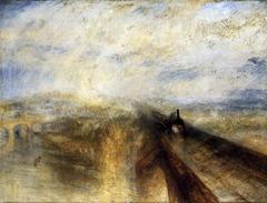 Rain, Steam, Speed by J.M.W. Turner, 1844