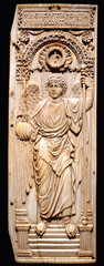 Saint Michael the Archangel,6th century, ivory,Byzantine Art