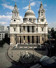Saint Paul's, Christopher Wren, 1675, London, England,Later Baroque Art