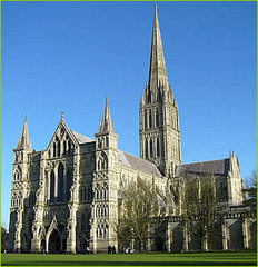 Salisbury Cathedral,1220,Gothic Art