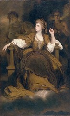 Sarah Siddons as a Tragic Muse, Joshua Reynolds, 1783-1784,English Rococo Art