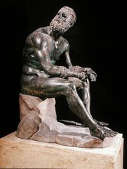 Seated Boxer (Hellenistic)  (Greece)