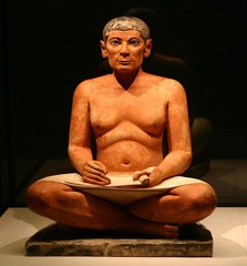 Seated Scribe (Old Kingdom)  (Egypt)