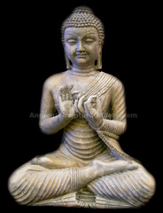 Seating Buddha,460,stone,Chinese Art