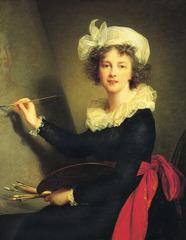 Self Portrait. Vigee Le Brun. 1790. oil on canvas