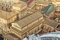Sistine Chapel Exterior Michelangelo, Vatican City, Italy, Ceiling frescoes 1508-1512, Altar frescoes, 1536-1541
