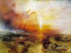 Slave SHip. Turner. 1840. oil on canvas
