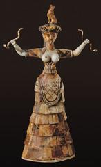 Snake Goddess (Minoan)