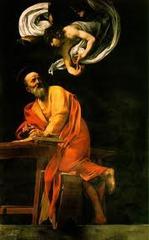 St. Matthew by Caravaggio 1602