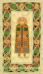 St. Matthew page, Book of Durrow