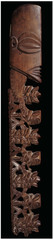 Staff god. Rarotonga, Cook Islands, Polynesia. late 18th century ce. wood, tapa, fiber, and feathers
