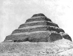Stepped Pyramid of King Djoser, c. 2630-2611 B.C.E., Saqqara, Egypt,Egyptian Old Kingdom Art