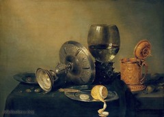 Still Life, Willem Heda, Baroque Art