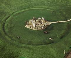 Stonehenge. Wiltshire, England. Neolithic Europe. 2500-1600 bce sandstone