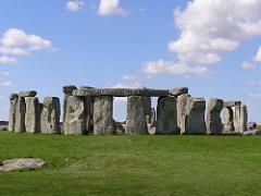 Stonehenge. Wiltshire, UK. Neolithic Europe. c. 2500-1600 B.C.E. Sandstone.