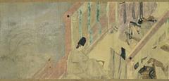 Tale of Genji scrolls (Heian)  (Japan)