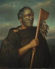 Tamati Waka Nene. Gottfried Lindauer. 1890 ce. oil on canvas
