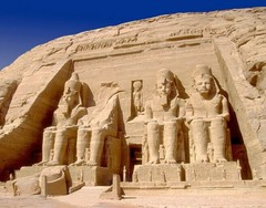 Temple of Ramses II, 1290-1224 B.C.E.,Egyptian New Kingdom Art