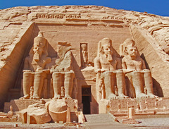 Temple of Ramses II, Abu Simbel (New Kingdom)  (Egypt)