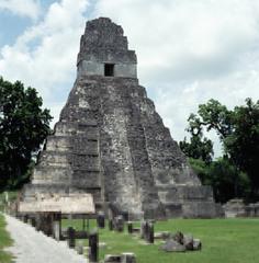 Temple of the Giant Jaguar, Tikal (Maya)  (Americas)