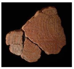Terra cotta fragment