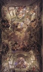The Apotheosis of St. Ignatius, Pozzo, Baroque Art