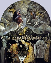 The Burial of Count Orgaz, El Greco, 1586 Santo Tome, Toledo, Spain,Later Renaissance Art