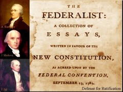 The Federalist Papers were published to build support for: