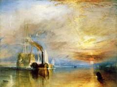 The Fighting Temeraire by J.M.W. Turner, 1838
