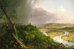 The Oxbow. Thomas Cole. 1836. oil on canvas