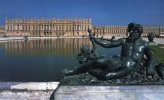The palace of Versailles. Versailles, France. Louis Le Vau and Jules Hardouin-Mansart. Begun 1669.  '