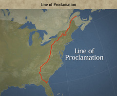 The Proclamation of 1763 declared: