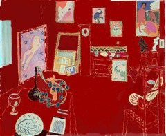 The Red Studio by Henri Matisse, 1911