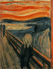 The Scream. Munch. 1893. tempera and pastels on cardboard