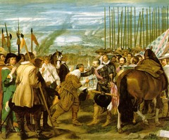 The Surrender of Breda, Diego Velazquez, 1634-1635, Prado, Madrid,Spanish Baroque Art