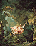 The Swing. Jean-Honore Fragonard. 1767. oil on canvas