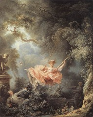 The Swing, Jean-Honore Gragonard, Wallace Collection, London 1766,French Rococo Art
