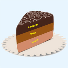 The system of government adopted by the Founding Fathers that divided power between the national and the state government is known as: