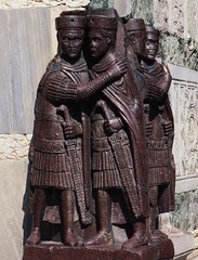 The Tetrarchs,305 CE, poryphyry,Late Imperial Roman