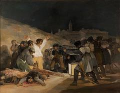 The Third of May, 1808 by Francisco Goya, 1814-1815