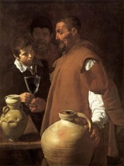 The Water Carrier of Seville, Diego Velazquez, 1618, Wellington Museum, London,Spanish Baroque Art